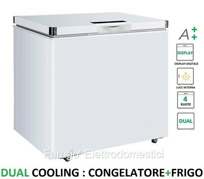 Congelatore A Pozzetto Orizzontale 212 Lt Dual Cooling Display A++ Isco211Dcx
