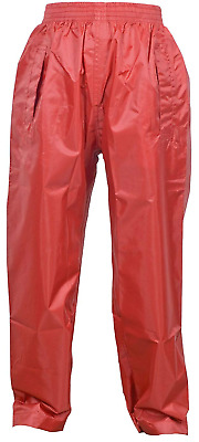 Childrens Waterproof Over Trousers. Boys and Girls Rainwear for Outdoor Play