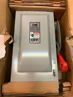 SIEMENS HF361NR 30 Amps Single Throw Safety Disconnect Switch New