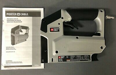 Porter-Cable Pneumatic 18-Gauge 3/8 in. Crown Stapler TS056CK
