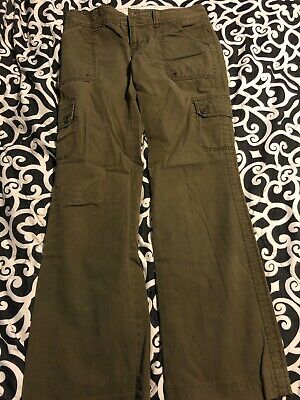 calvin klein pants size 2 Olive Green