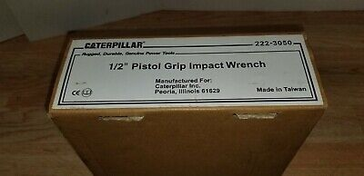 Caterpillar 1/2 Impact Wrench Model 222-3050 free shipping