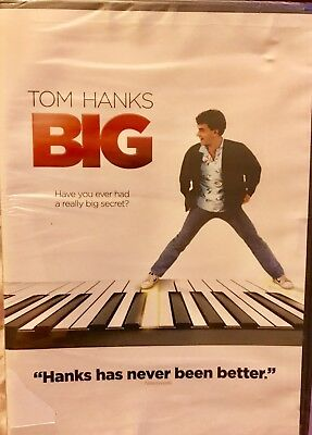 Big  Widescreen DVD  FACTORY SEALED NEW  Tom Hanks