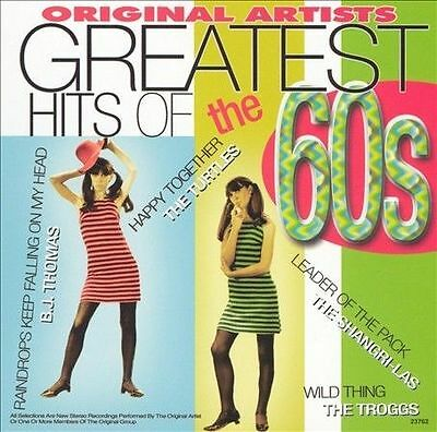 Greatest Hits of the 60's 1 / Various : Vol. 1 Rock 1 Disc CD