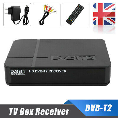 DVB-T2 3D HD Set-Top TV Box Digital Receiver Freeview Recorder HDMI USB H.264 UK