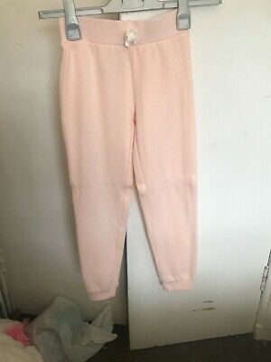 Young Girl Peach Jogging Bottoms Size 7-8