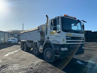 DAF CF 85 360- 8 Speed Manual Tipper 8x4 £8000.00 + VAT
