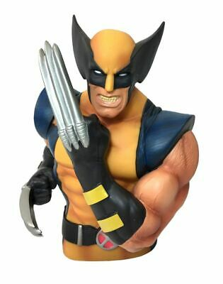 """Marvel Wolverine 7"""" Coin/Bust Bank Christmas Birthday Gift"""