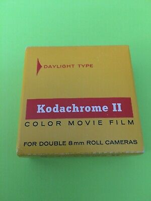 Kodachrome II Double 8mm Color Movie Film Daylight 25ft Sealed Exp 11/72 K459