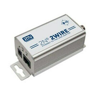 New  2N Telecommunications 2Wire Ip To Ip Poe Extender Kit (Set Of 2X Adaptors &
