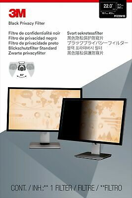 """New  3M Privacy Filter For 22"""" Widescreen Monitor 98044054140"""