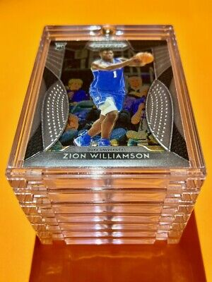 Zion Williamson ROOKIE CARD PANINI PRIZM 2019-20 INSERT DRAFT PICKS RC #64 Mint!