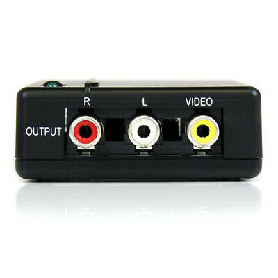 New  Startech.Com Hdmi To Composite Converter With Audio HD2VID