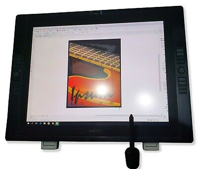 Wacom Cintiq 21UX 2 Interactive Pen Display Graphic Monitor DTK-2100 21""
