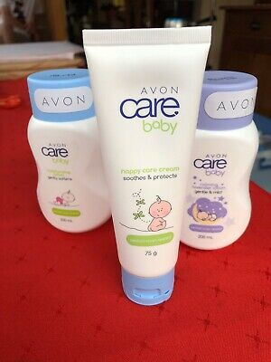 Avon Care Set Of Four Baby Bundle - New And Sealed