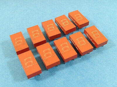 """10pcs TR335, 0.3"""" 7-Segment LED Display, RED, MAN72A compatible, Common anode"""