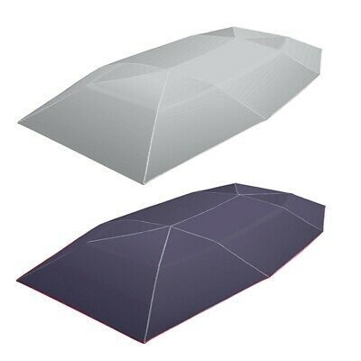 Car Umbrella Sun Shade Cover Tent Cloth 4X2.1M Universal UV Protect Without E5N6