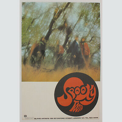 Spooky Tooth. Psychedelic Pur. Absolut seltenes Originalposter