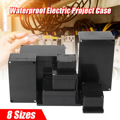 Enclosure Box Waterproof Plastic Electronic Project Instrument Electrical Case