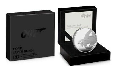 James Bond UK 2020 First £2 Coin 1oz Silver Proof Ltd Edition 7007 PreOrder
