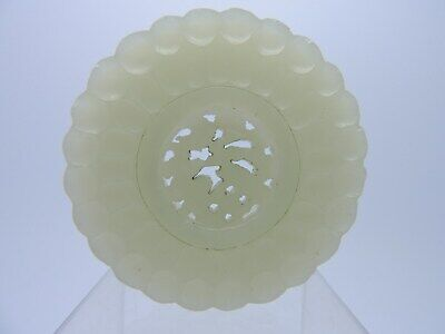 Antique Chinese Jade bi disc or ornament. free moving centre