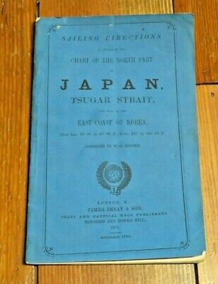 Sailing Directions-North Part of Japan-Tsugar Strait-East Coast of Korea-1871