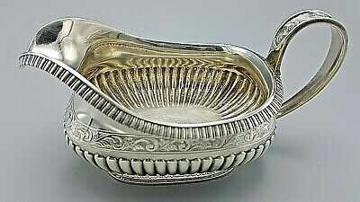 Antique J. E. Caldwell And Co. Sterling Silver Gravy/Creamer Or Sauce Boat