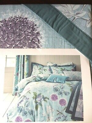 NEXT Wild Hedgerow Teal SINGLE Bedset 100/% Cotton ~Gorgeous~ BRAND NEW RRP £35