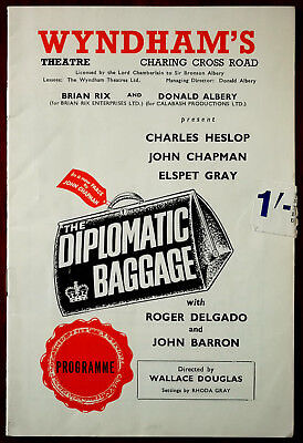 The Diplomatic Baggage by John Chapman, Wyndham's Theatre Programme 1965