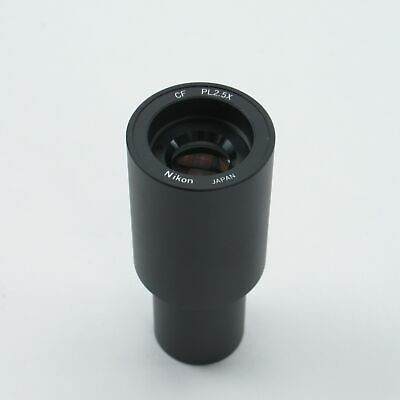 Nikon Cf Pl 2.5X 23Mm Microscope Photo Eyepiece Pl 2.5X - Mpc91000