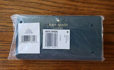 💚NWT🧡RARE💛 Kate Spade Grand Street Stacy Wallet Emerald Forest ⭐Org $139⭐