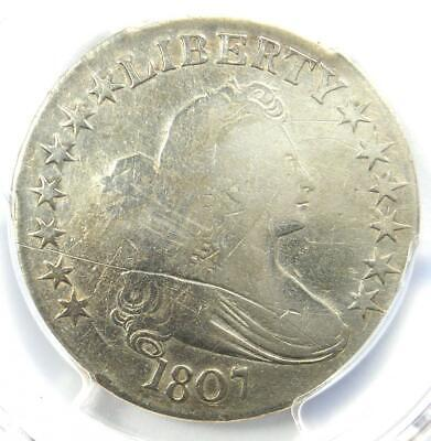 1807 Draped Bust Half Dollar 50C - PCGS VG Details - Rare Certified Coin!