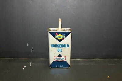 Vintage Sunoco Household Oil Can