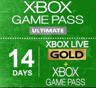 XBOX LIVE 14 Day GOLD + Game Pass (Ultimate) - GLOBAL - INSTANT