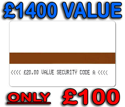 Ampy Electric Meter Cards £1400 Credit For Only £100 Code A