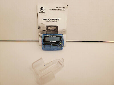 Vintage Motorola Talkabout Numeric Pager