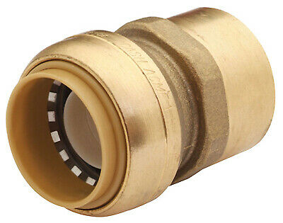 1-In. x 1-In. FIP Straight Connector, Lead-Free