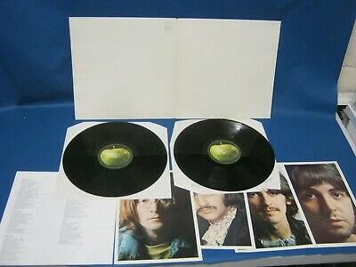 Record Album The Beatles White Album Yex709 710