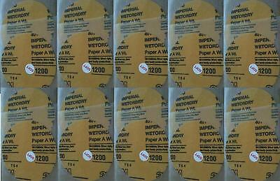 20 LOT JFJ Easy Pro 3M 1200 GRIT GREY SOFT SANDPAPER