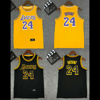 #24 Kobe Bryant Los Angeles Lakers Jersey Men Youth Adult Man Top Vest