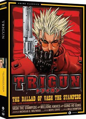 Trigun: The Complete Series (DVD, 2013, 4-Disc Set) Anime Classics NEW!!!