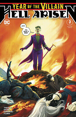 Year Of The Villain Hell Arisen #3 Epting Cover Dc Comics 1St App Punchline