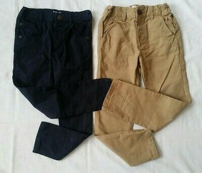 Boys Next Black and Beige Chinos and Jeans Bundle 3-4 Years