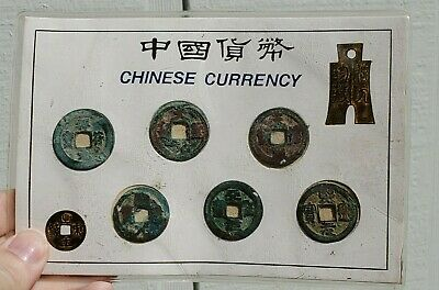 Lot Ancient Chinese Bronze Currency Ching Chu Cowrie Coins Antique China