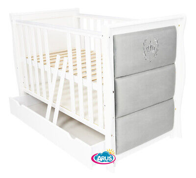 """New Style !!! Baby Cot With Drawer/Junior Bed """"Royal Ii """"+ Selection Of Mattress"""