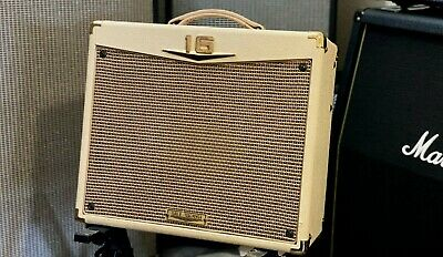 """Crate Palomino V16 15W 1x12"""" Class A Tube Combo Guitar Amp Amplifier Cream"""
