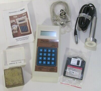 ADEK 3400 Percometer And Conductivity Meter Road Scanner