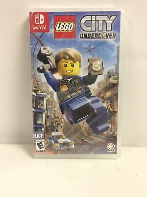 LEGO City Undercover (Nintendo Switch, 2017) Brand New Free Shipping
