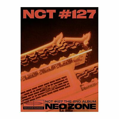 "K-POP NCT 127 2nd Album ""NCT #127 Neo Zone"" [ 1 Photobook + 1 CD] T Ver"