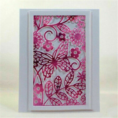 Butterfly Frame Metal Cutting Die DIY Scrapbooking Embossing Paper Card Craft